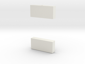 1/87 Underbody Toolbox #3 set of 2 in White Natural Versatile Plastic