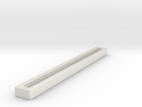 1/87 Ladder Open Storage Long in White Natural Versatile Plastic