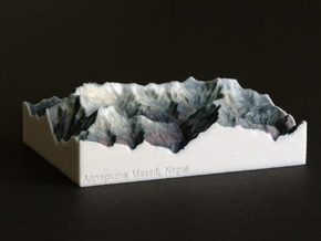 Annapurna Massif, Nepal, 1:250000 Explorer in Full Color Sandstone