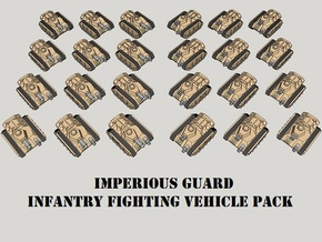 3mm Imperious Guard IFV Pack (24pcs) in Smooth Fine Detail Plastic