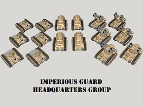 3mm Imperious Guard HQ Group (16pcs) in Smooth Fine Detail Plastic