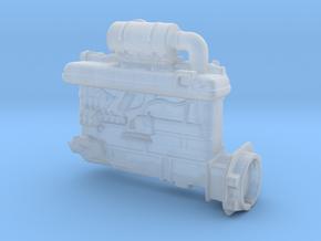 Diesel engine in Smooth Fine Detail Plastic