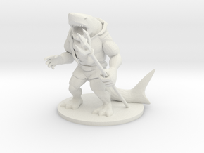 Wereshark in White Natural Versatile Plastic