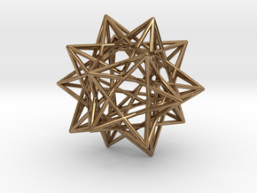 Ten Tetrahedra in Natural Brass