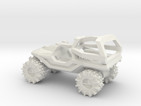 All-Terrain Vehicle with Roll Over Protection (ROP in White Natural Versatile Plastic