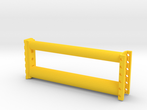 ARG 163mm Extension in Yellow Processed Versatile Plastic