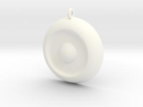 Amulet Of Anubis in White Processed Versatile Plastic