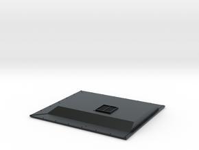 IN0006 GP38/40 Inertial Filter Hatch 1/87.1 in Black Hi-Def Acrylate