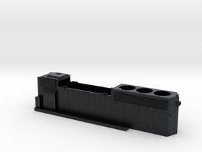 KCS796-799 GP40-2 HOOD 1/87.1 in Black Hi-Def Acrylate