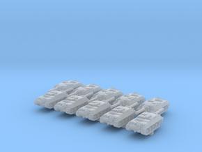 1/600 German Kanonenjagdpanzer Tank Destroyer x10 in Smoothest Fine Detail Plastic