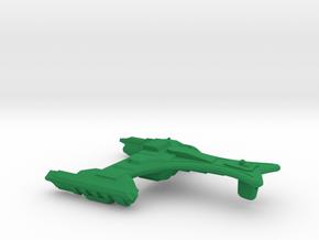 Ramoran D'Rision Class Cruiser - 1:70000 in Green Processed Versatile Plastic