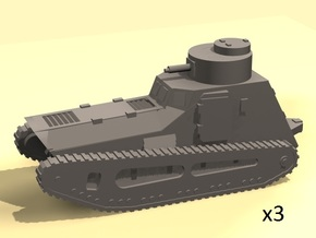 1/160 scale LK-II light tank (MG armed) in Smooth Fine Detail Plastic