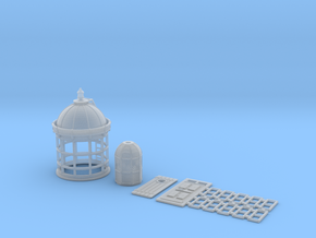 HOpb40b - Large brittany lighthouse in Smoothest Fine Detail Plastic