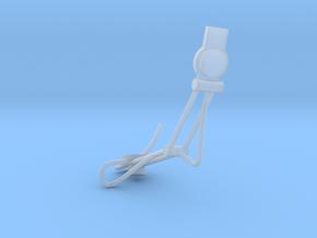 1.4 CASQUE PILOTE COBRA (PART 3) in Smooth Fine Detail Plastic