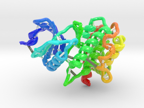 Mitogen and Stress-activated Kinase 1 (MSK1) in Glossy Full Color Sandstone