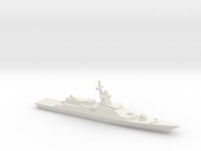 Gremyashchiy-class Corvette, 1/2400 in White Natural Versatile Plastic