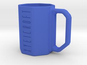 Pythagoras Mug in Blue Processed Versatile Plastic