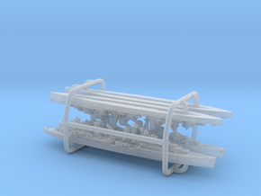 UK Arethusa Class Light Cruisers (2+2) in Smooth Fine Detail Plastic: 1:3000