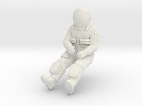 NASA Space Shuttle Pilot in White Strong & Flexible: 1:32