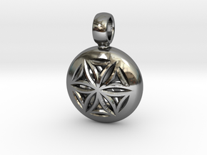 NUCLEO in Fine Detail Polished Silver