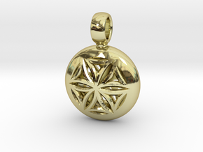 NUCLEO in 18k Gold Plated Brass