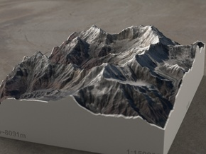 Annapurna Massif, Nepal, 1:150000 Explorer in Full Color Sandstone
