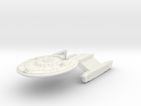 Baker MK II in White Natural Versatile Plastic