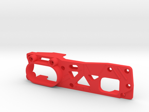 Tamiya M04 - M04S (210mm Wheelbase) chassis - R in Red Processed Versatile Plastic