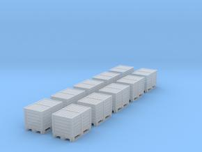 TJ-H02026 - Caisse-palette bois fermée in Smoothest Fine Detail Plastic