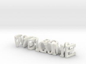 3dWordFlip: welcome/camboya in White Strong & Flexible
