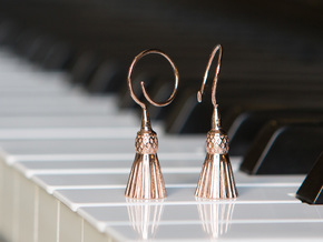 Tassels in 14k Rose Gold Plated