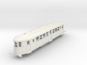 O-100-sr-sent-cammell-railbus in White Natural Versatile Plastic