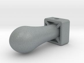 Nuke Keychain in Polished Metallic Plastic