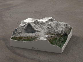 Eiger/Jungfrau, Switzerland, 1:100000 Explorer in Full Color Sandstone