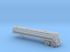 N scale 1/160 Crude oil trailer, Troxell 130 in Smooth Fine Detail Plastic