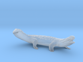 S Scale Crocodile in Smooth Fine Detail Plastic