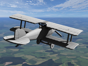Albatros D.II in White Strong & Flexible: 1:144