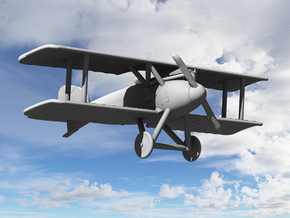 Albatros D.II (Early) in White Strong & Flexible: 1:144
