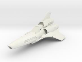Battlestar Galactica Viper MK2 in White Natural Versatile Plastic