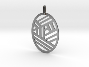The Bonnie Pendant in Polished Silver