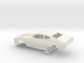 1/12 Pro Mod Maverick W Large Cowl in White Natural Versatile Plastic