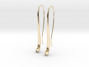 Streamlets in 14K Yellow Gold