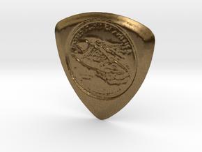 100 Dollar Pick in Natural Bronze