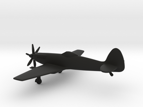 Supermarine Spiteful in Black Natural Versatile Plastic: 1:144