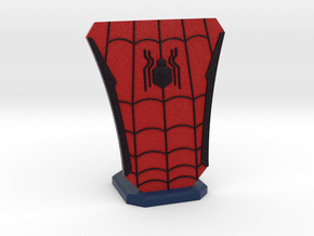 Spiderman Hero Stand in Full Color Sandstone