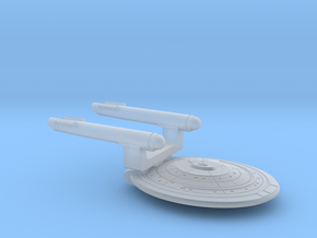 TOS Light Cruiser in Smooth Fine Detail Plastic