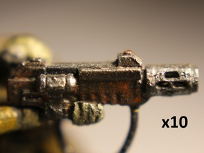 28mm SciFi Melting Blaster x10 in Frosted Extreme Detail
