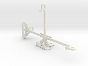 Oppo F3 tripod & stabilizer mount in White Natural Versatile Plastic