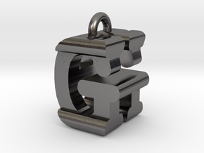 3D-Initial-GH in Polished Nickel Steel