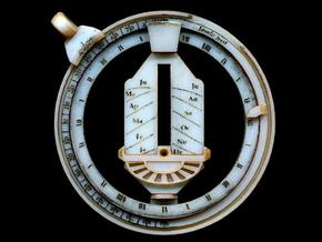Universal Ring Dial 2 in White Acrylic